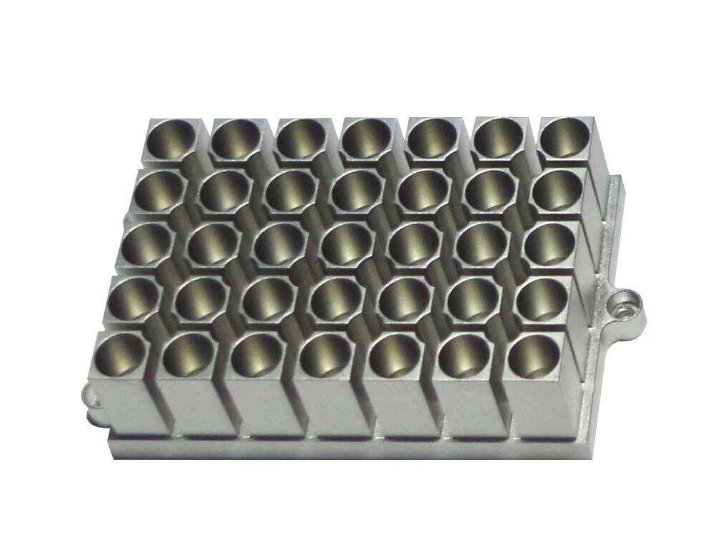 Bloco para Banho Seco com Agitação para 35 Microtubos de 1,5 ml Kasvi