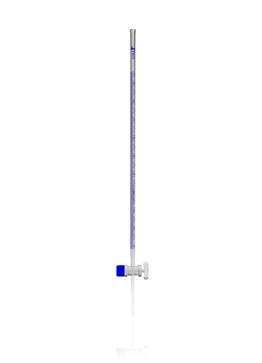 Bureta Graduada Classe A Incolor com Torneira de Vidro 10 ml Uniglas
