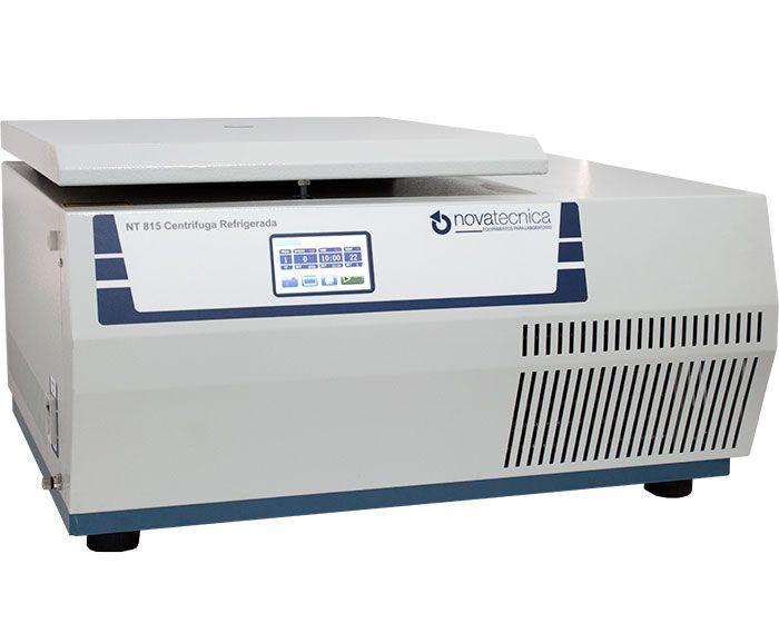 Calibração Rastreável de Centrífuga com Aquecimento ou Refrigeração - Calibração Rotação + Tempo + Temperatura em até 5 pontos