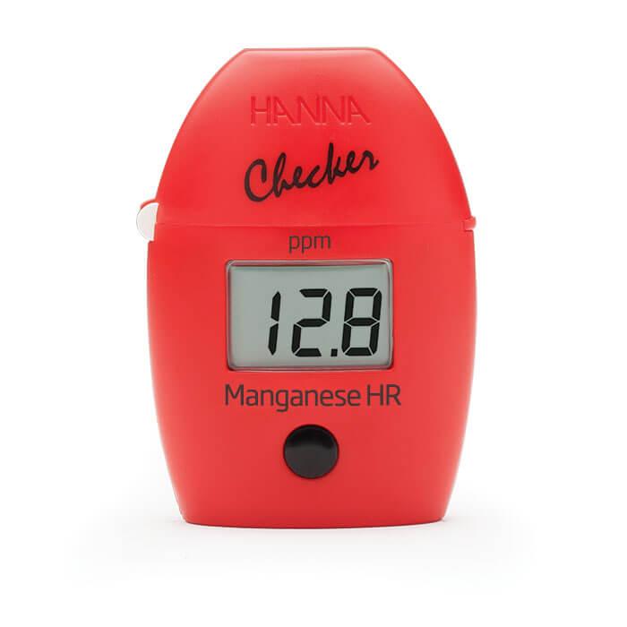 Colorímetro Checker para Medição de Manganês Faixa Alta Hanna