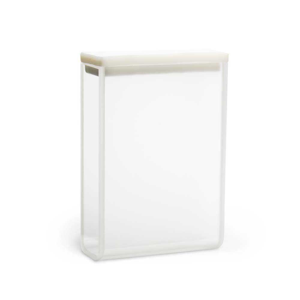 Cubeta em Quartzo ES, 2 Faces Polidas Passo 30 mm, 10,5 ml. kasvi