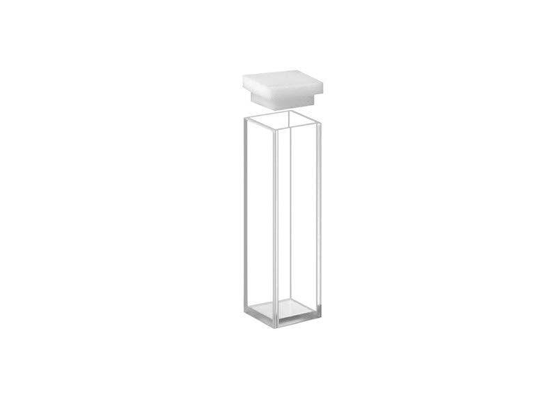 Cubetas em Vidro Óptico 4 Faces Polidas 3,5 ml Kasvi