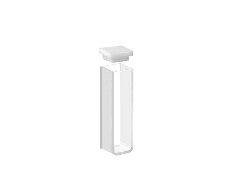 Cubetas em Vidro Óptico 2 Faces Polidas 1,0 ml Kasvi