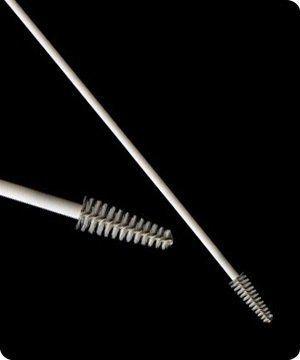 Escova cervical não estéril absorve 500 peças, 5 pcts c/ 100 unidade.