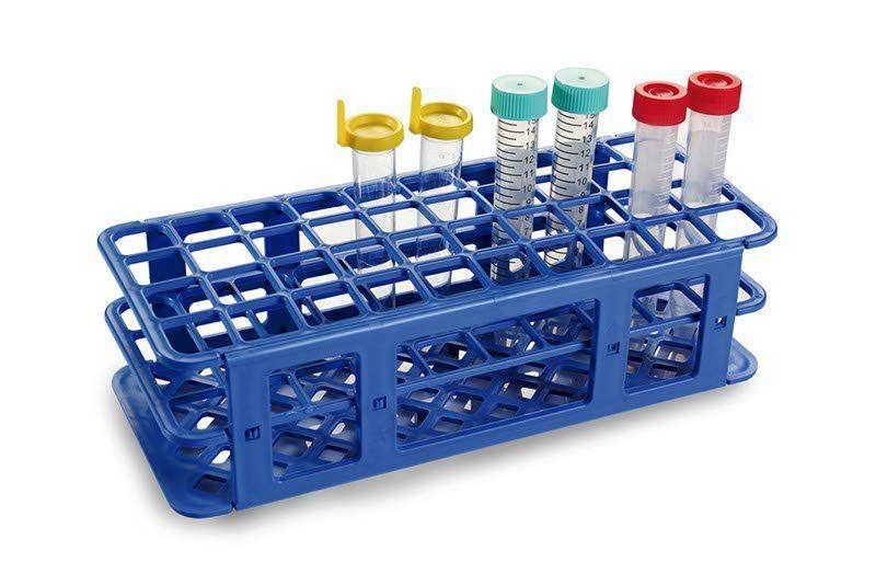 Estante olen em pp p/90 tubos de ensaio