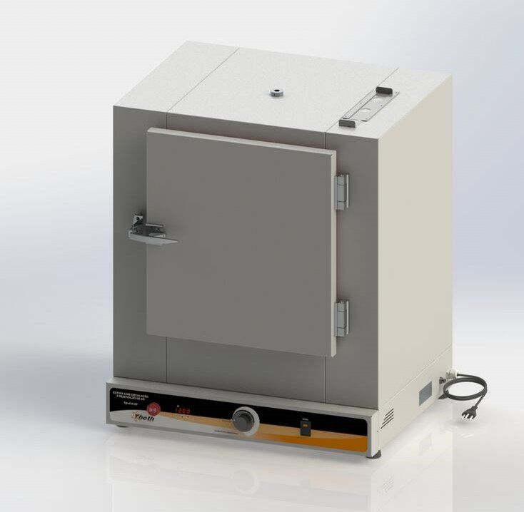 Estufa de esterilização e secagem com circulação e renovação de ar digital 250 litros thoth, 220 v.