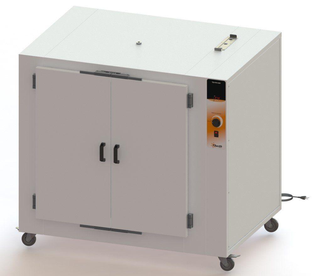 Estufa de esterilização e secagem com circulação e renovação de ar digital 480 litros thoth, 220 v.