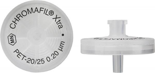 Filtro para Seringa Chromafil XTRA PET 25mm 0,20um 100 und./ cx. Macherey-Nagel (MN) - fg ETQ