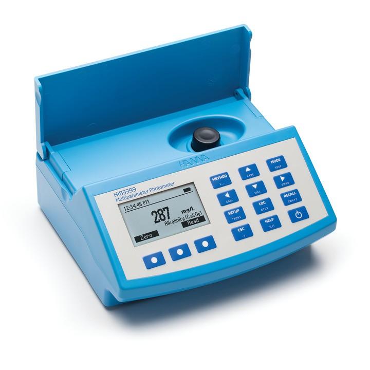 Fotômetro Multiparâmetro e Medidor de pH para Análises da Água e Efluentes Hanna