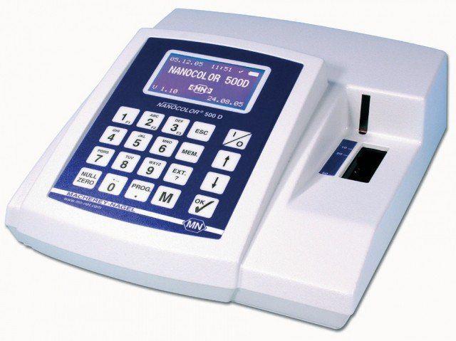 Fotômetro Nanocolor 500d de Bancada Portátil Macherey Nagel (MN)