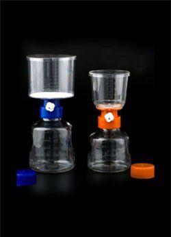 Frasco Completo de Filtragem à Vácuo Estéril, Embalado Individualmente - Capacidade 500 ml Bionaky