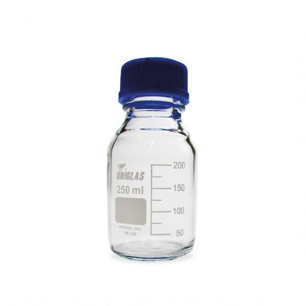 Frasco Reagente Boro Inc. T/R e Anti-Gotas 50ml Uniglas ETQ