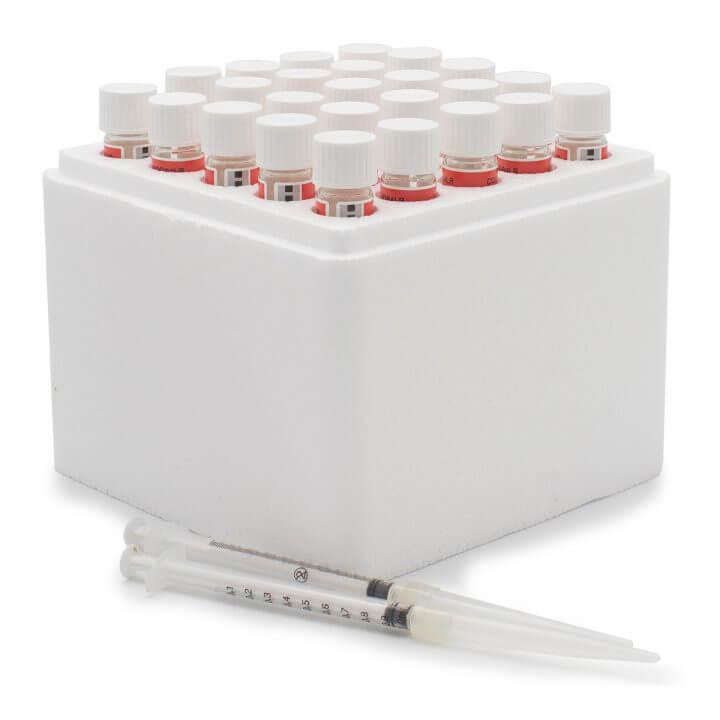 Frascos de Reagente de Faixa Baixa de DQO (demanda química de oxigênio) Método EPA - 25 testes Hanna