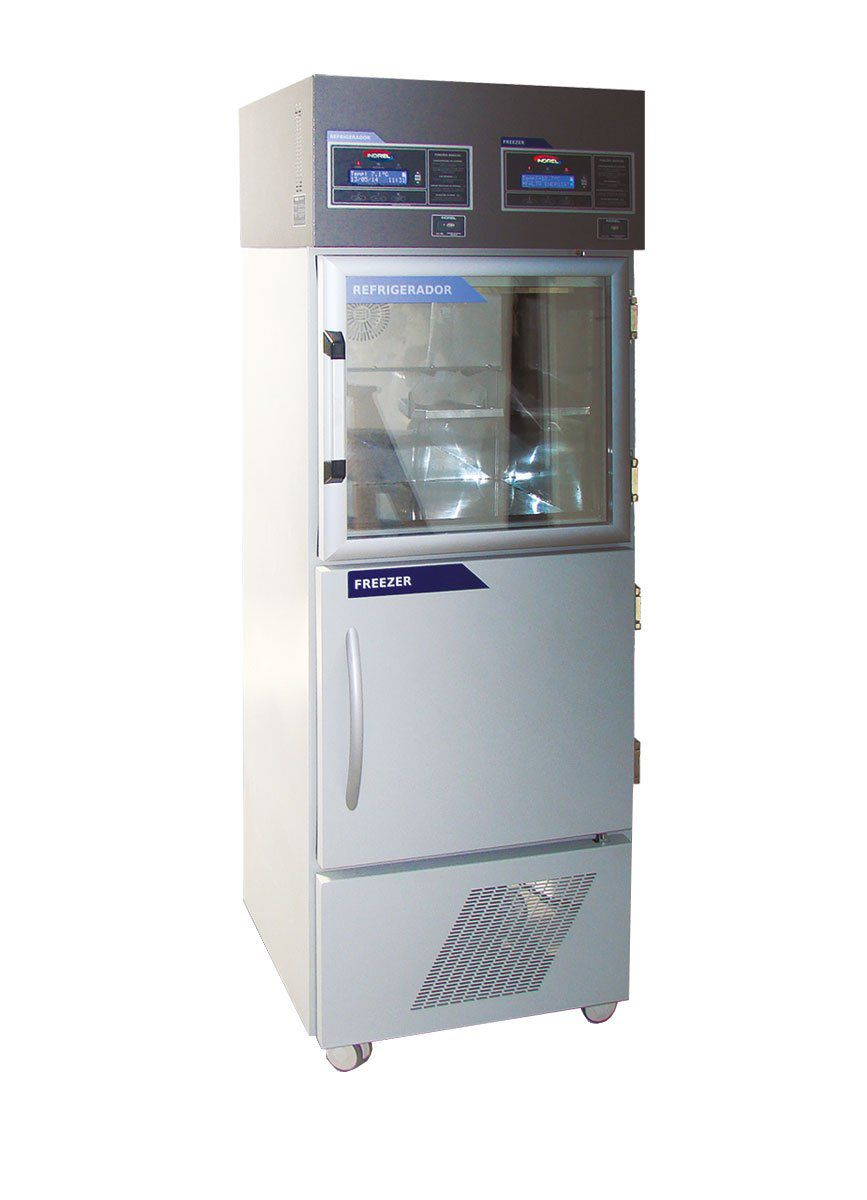 Freezer Refrigerador DUO 120L / 120L Indrel