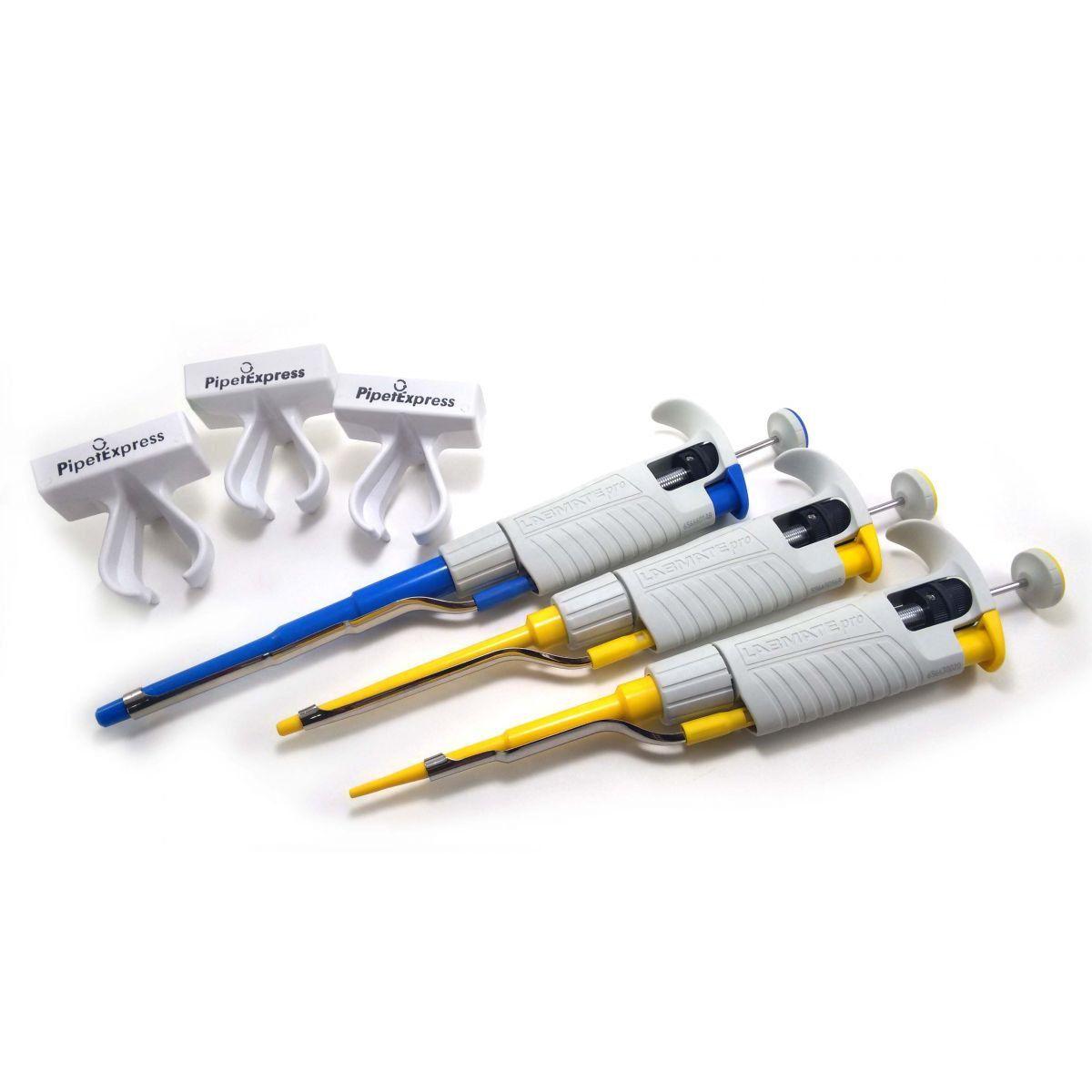 Kit Labmate Pro Micropipetas 2- 20ul, 20- 200ul e 100- 1000u HTL