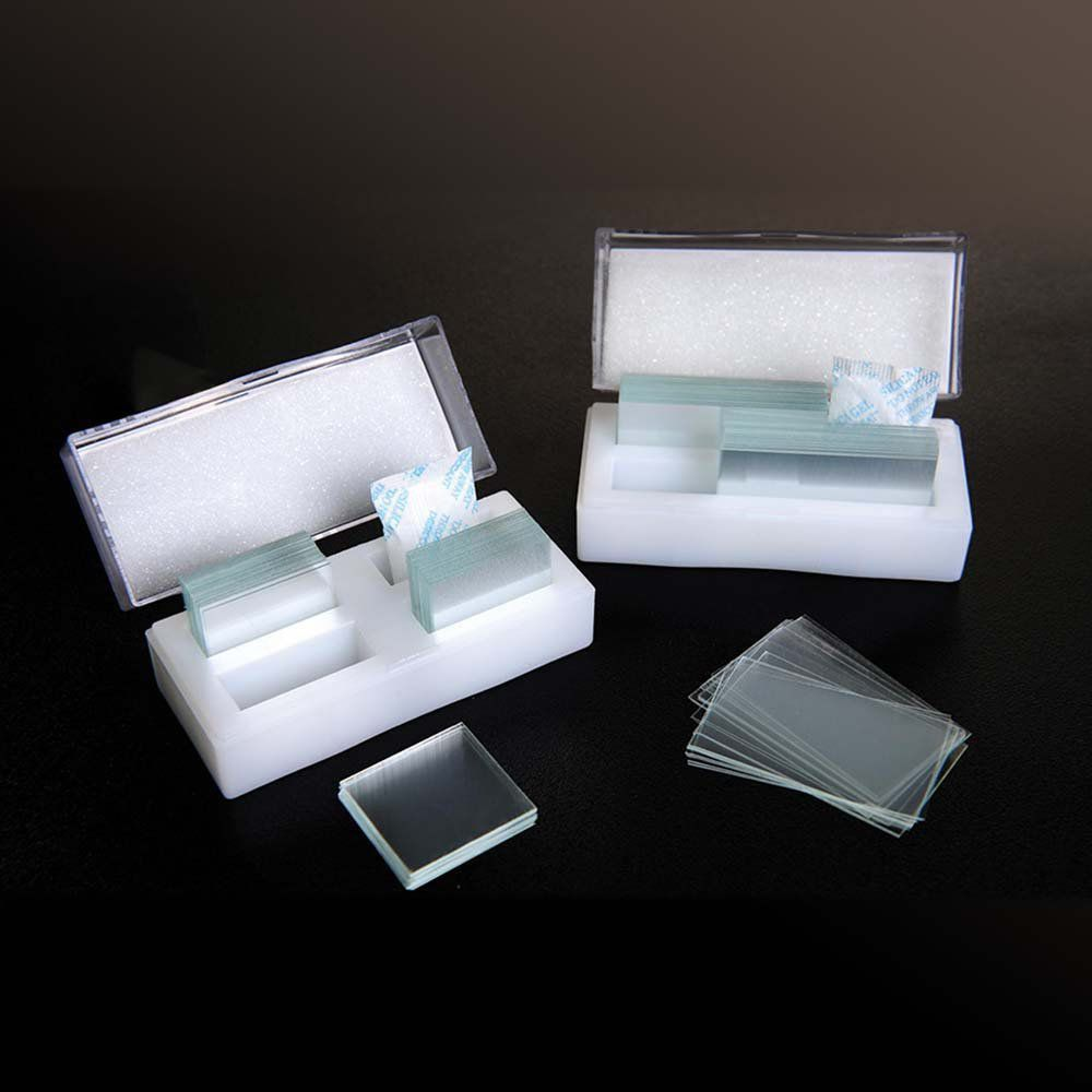 Lamínula 22 x 22 mm 1000 un/cx Firstlab