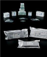 Lamínula de vidro, 18x18mm, pct/100 peças, caixa com 20 pcts precision.