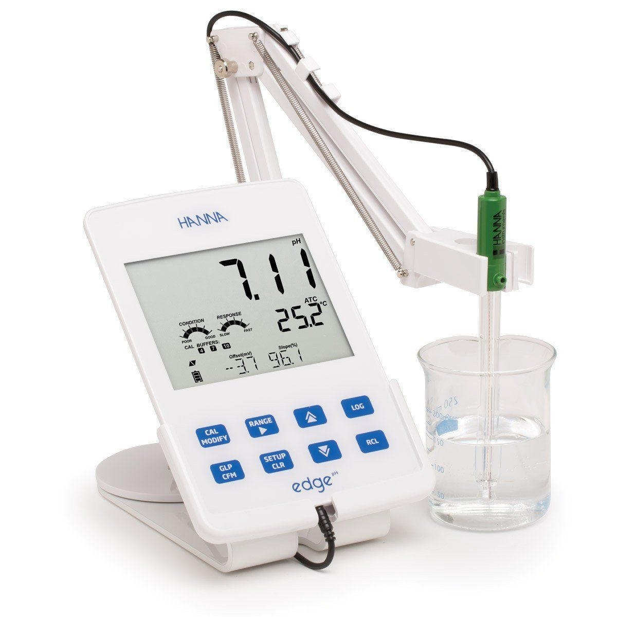 Medidor Edge® para pH /ORP 230V Hanna