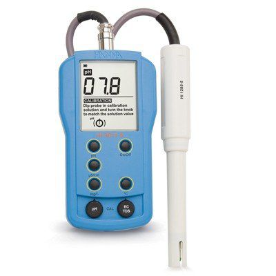Medidor Portátil pH/ EC/ TDS/ Temperatura Hanna FR
