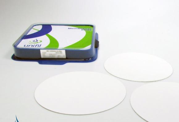 Membrana de Filtração Acetato de Celulose Lisa 0,20um 13 mm - 100und./ pct. Unifil