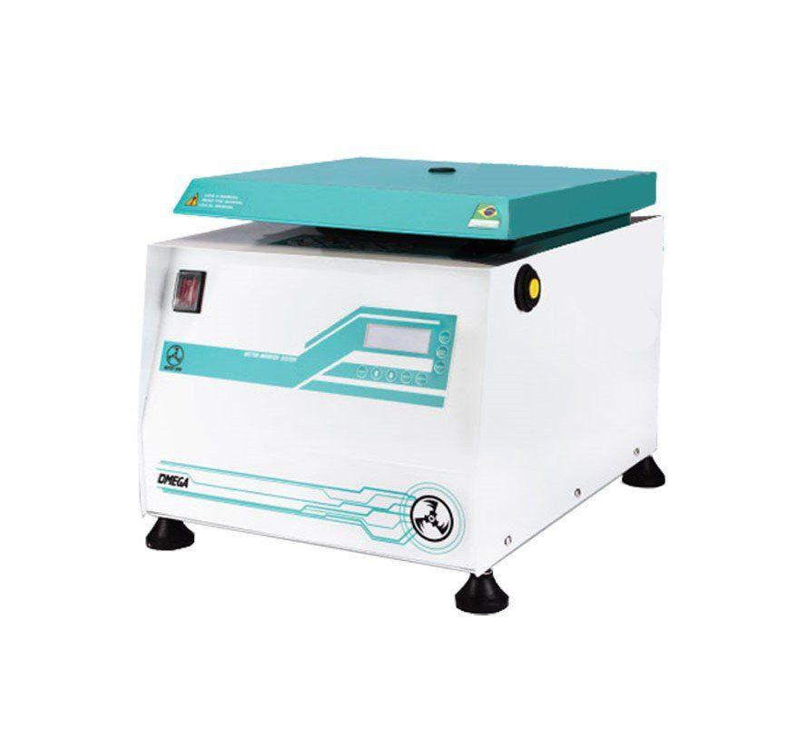 Microcentrífuga Clínica Omega Rotor Spin para Pequenas Rotinas de Coleta 110/220V Laborline
