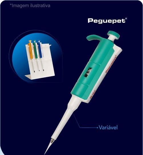 Micropipeta Monocanal 10-100uL Peguepet