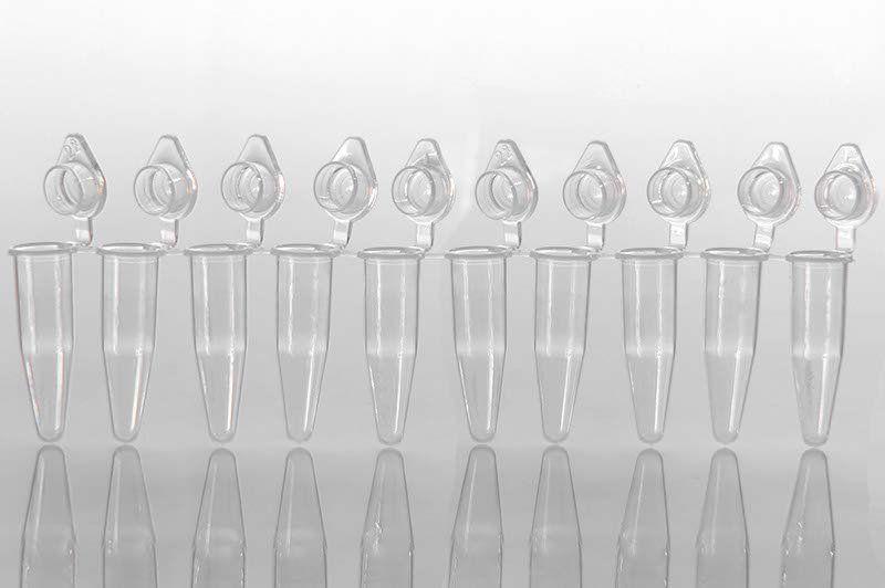 Microtubo PCR reg. Profile 8x0,2ml em Tiras, com Tampa, pct 120 unid. Capp.