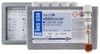 Nanocolor DQO 1500 HR 20-1500 mg/l o2 - 20 testes/ pct. Macherey-Nagel (MN) FR