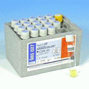 Nanocolor DQO 40 2-40 - 20 testes/ pct. Macherey-Nagel (MN) FR