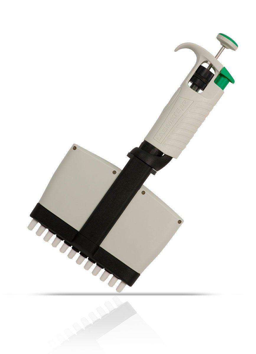 Micropipeta Multicanal Labmate pro 12 canais 50-300ul HTL