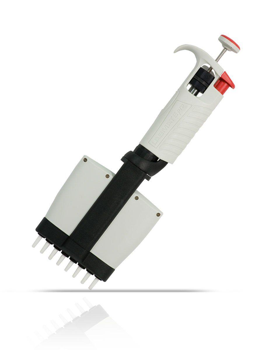 Micropipeta Multicanal Labmate Pró 8 canais 0,5-10ul HTL