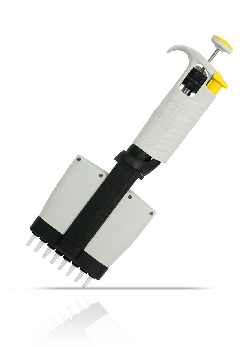 Micropipeta Multicanal Labmate Pro 8 canais 5 - 50 ul HTL