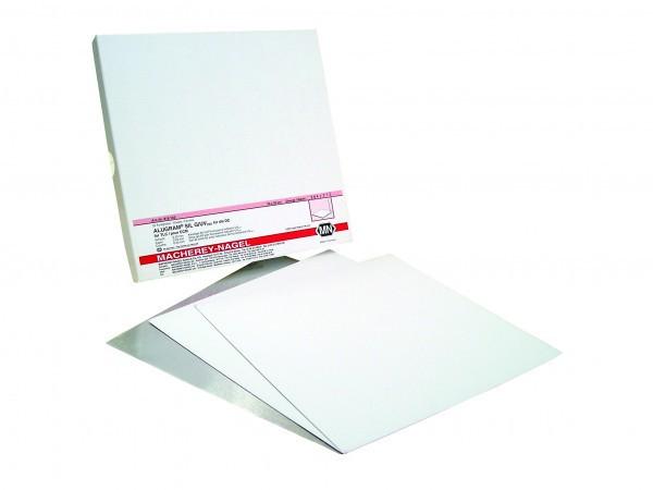 Placa de Aluminio Alugram XTRA SIL.GEL 60 UV254 20x20 0,20 - 25 und.  Macherey-Nagel (MN) fr ETQ - ENTREGA IMEDIATA