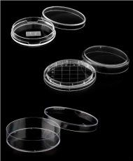 Placa de Petri ps 60x15mm, lisa, pct/10 unid. - 420 und./ cx. Cralplast