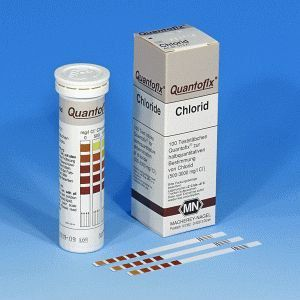 Quantofix Cloreto 0-3000 mg/l - 100 tiras/ cx. Macherey-Nagel (MN) FR