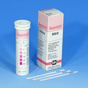 Quantofix Nitrito 0-80 mg/l No2 - 100 tiras/ cx. Macherey-Nagel (MN) FR