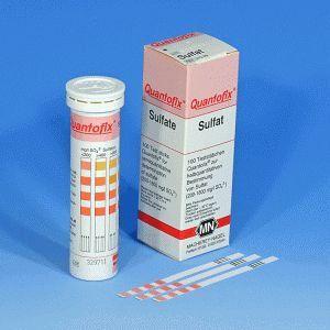Quantofix Sulfato 200 - 1600 mg/l - 100 tiras/cx. Macherey - Nagel (MN) FR