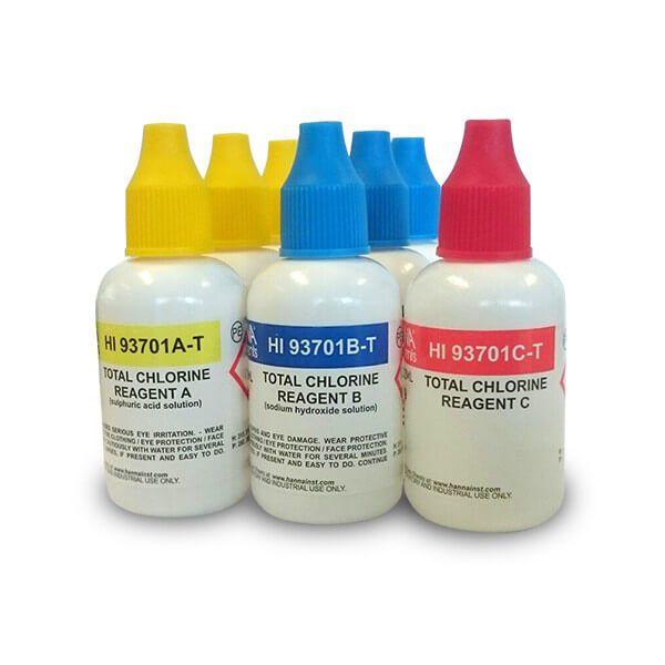 Reagente para Cloro Total (líquido) 300 testes Hanna