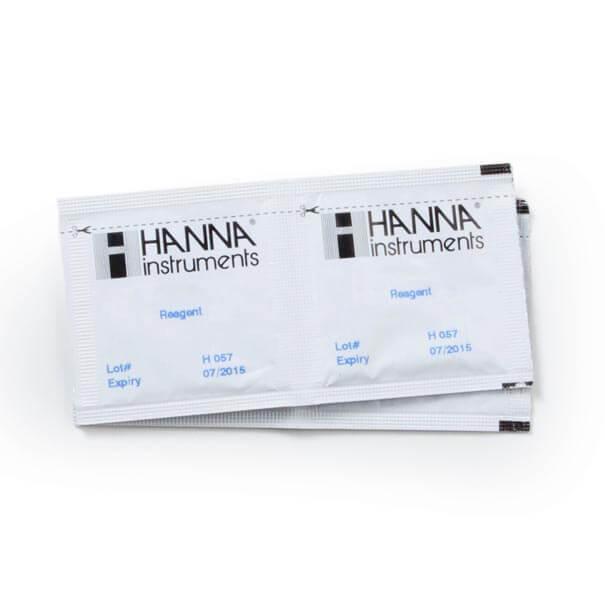 Reagente para Ferro Faixa Alta 100 testes Hanna