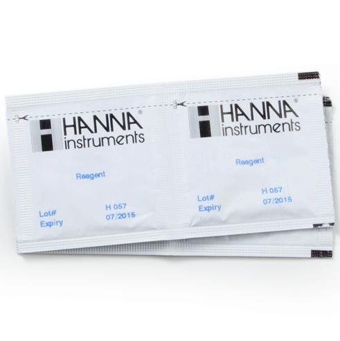 Reagente para Cloro Faixa Ultra Alta 100 testes Hanna