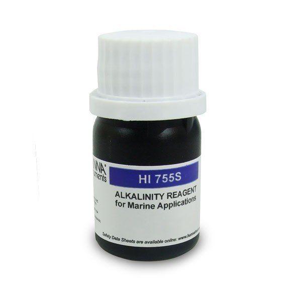 Reagente de Alcalinidade para Água Salgada 25 testes Hanna ETQ
