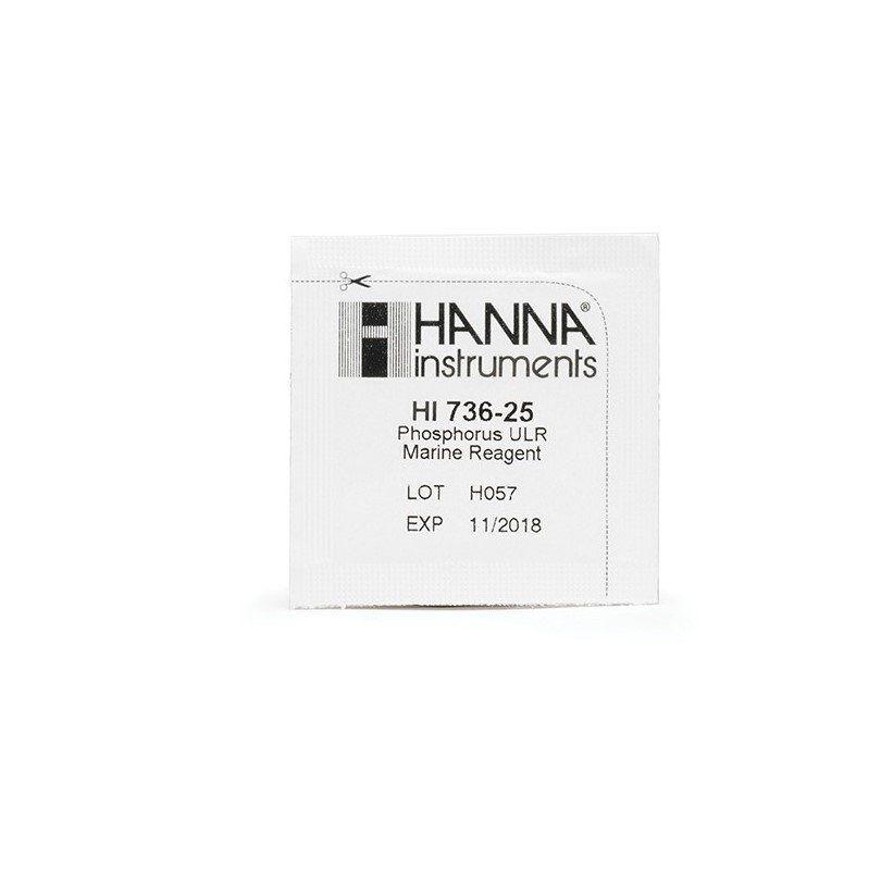 Reagentes para Fósforo Faixa Ultra Baixa (linha checker) - 25 testes Hanna