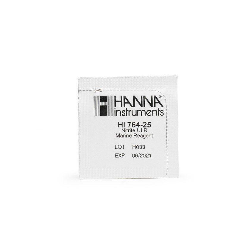 Reagente para Nitrito Faixa Ultra Baixa 25 testes Hanna