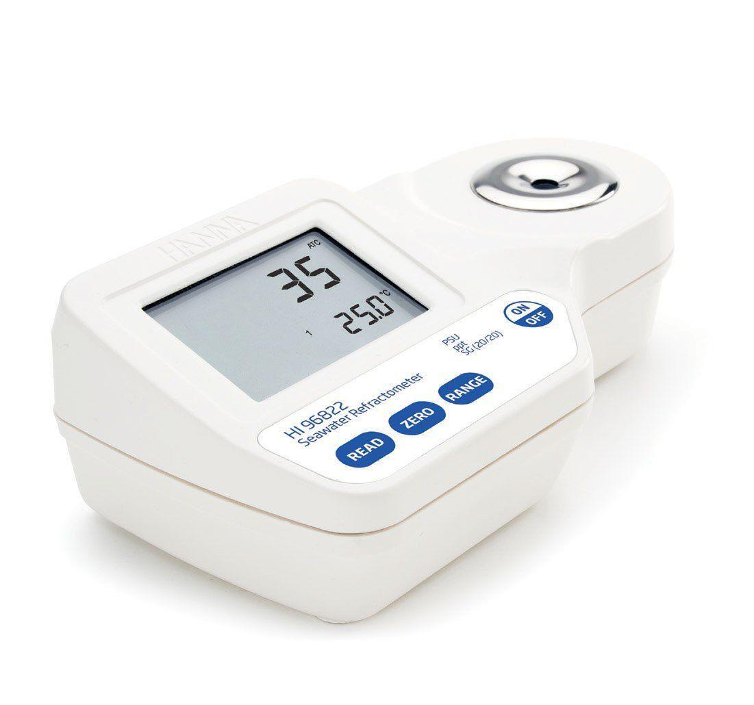 Refratômetro Digital para Análise de Água Salgada Hanna