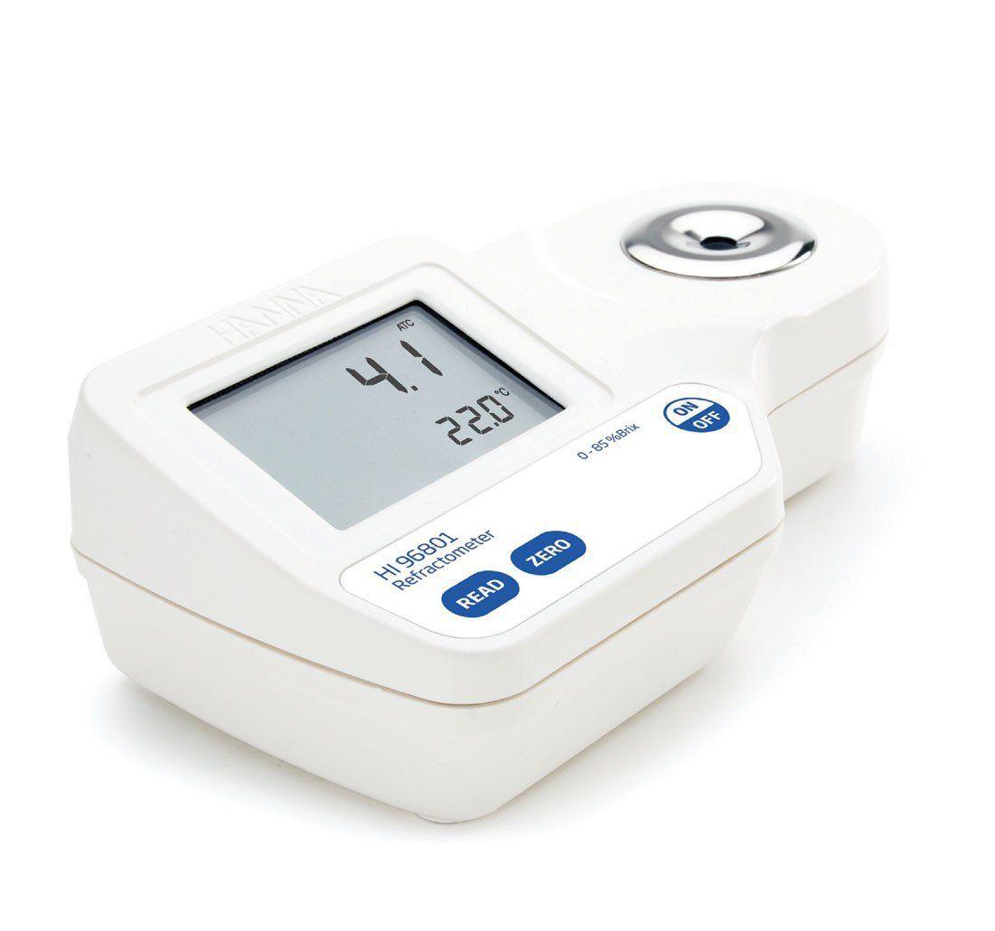 Refratômetro Digital para Análise BRIX em Alimentos Hanna