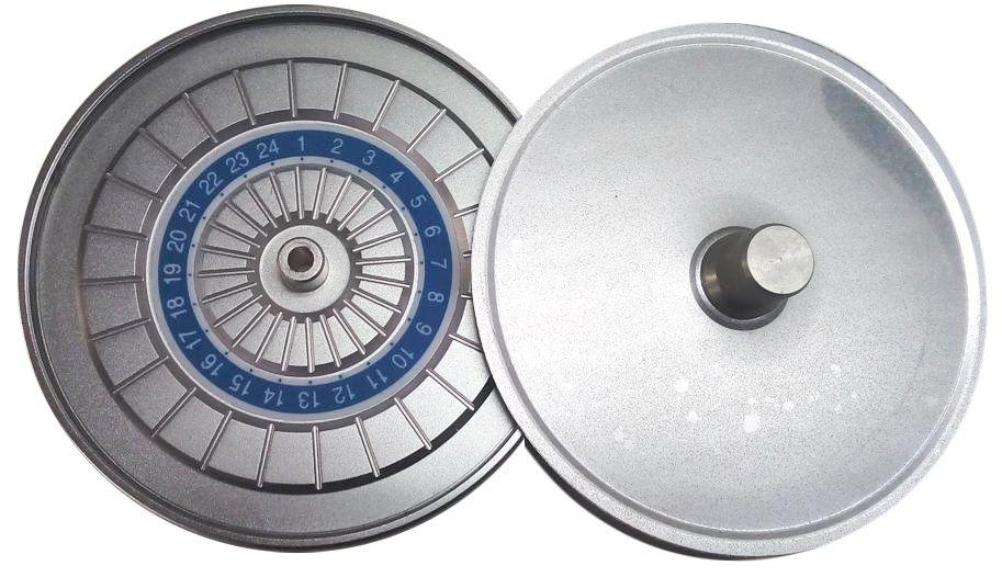 Rotor de Ângulo Fixo 0° capacidade de 24 Tubos Capilares Daiki