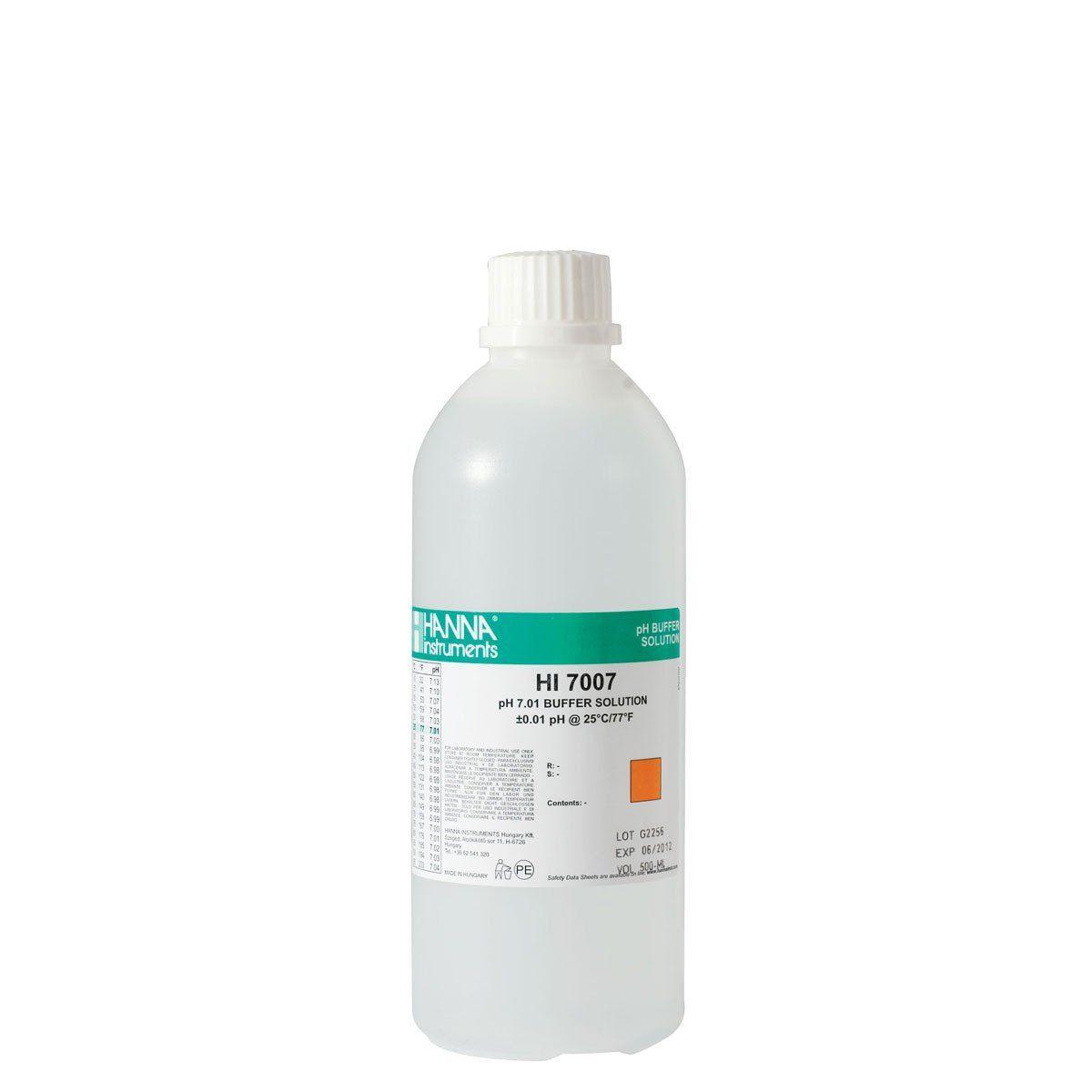 Solução de Calibração pH 7.01 - 500 ml Hanna