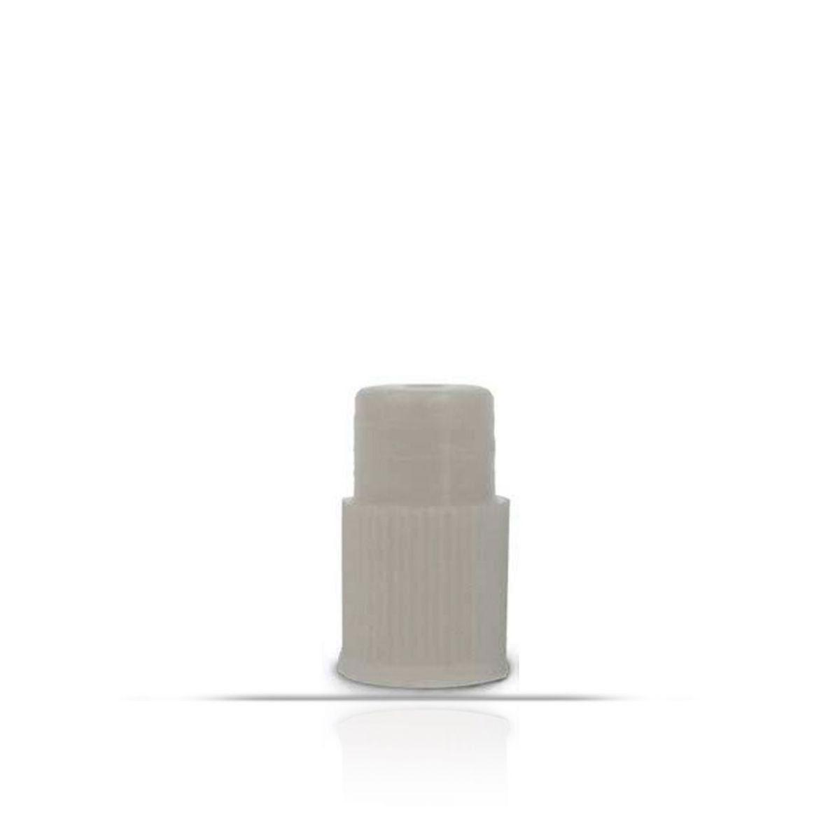 Tampa Reta Para Tubos de Ensaio, 13mm. 1000 un/pct. Olen