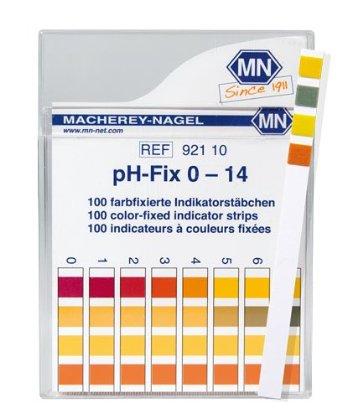 Tira de pH pH-fix 0-14 100 und./pct. MN ETQ - ENTREGA IMEDIATA