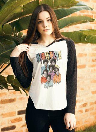 Camiseta Manga Longa Feminina High5